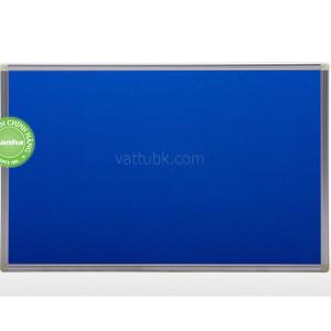Bảng ghim nỉ cố định xanh dương
